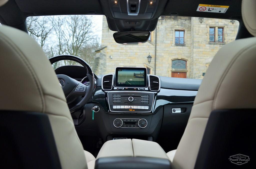 Mercedes GLE Coupe. Freshfuel.pl