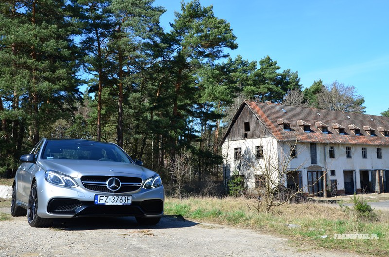 Mercedes E63 AMG Foto T.Kamiński